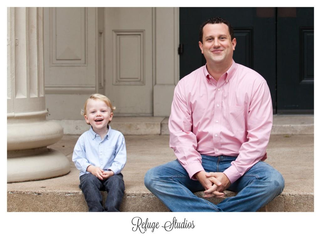 Findlay Ohio father son family photographer