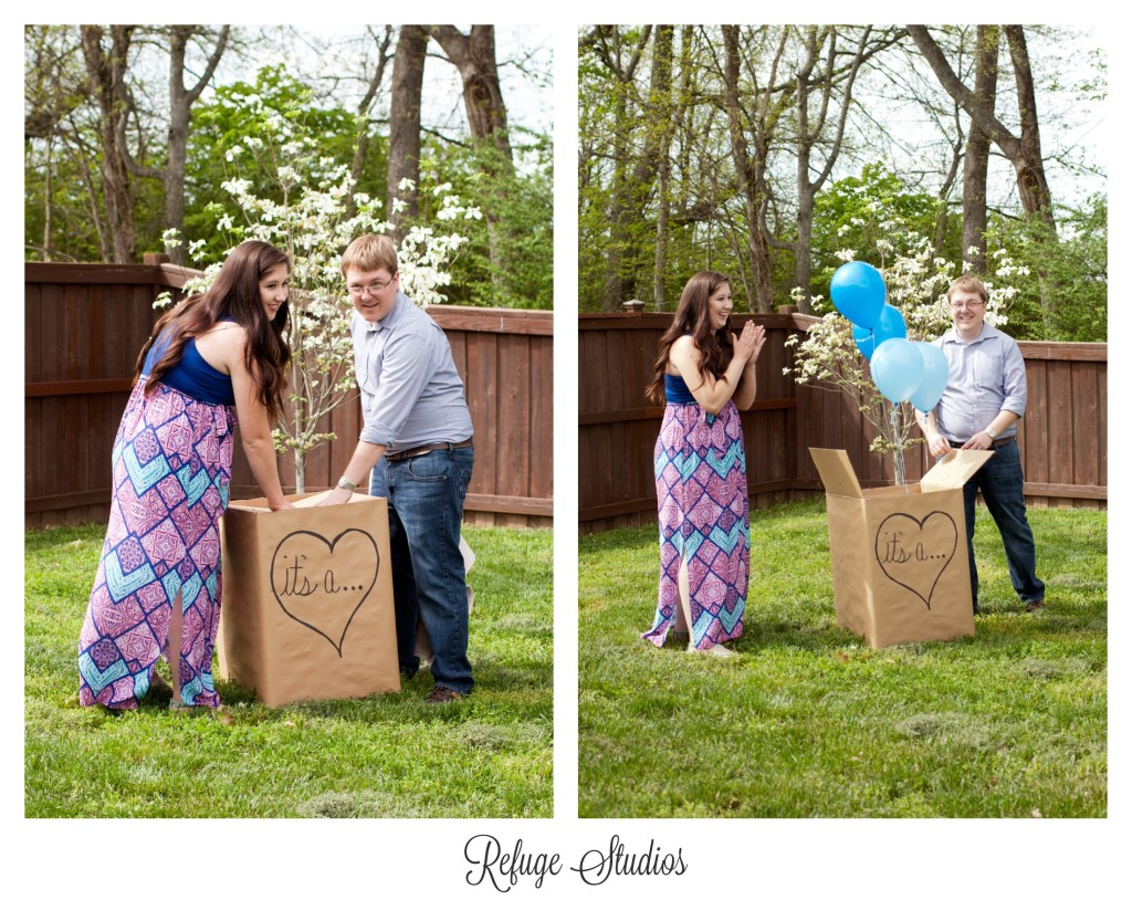 Findlay Ohio Gender Reveal Photography