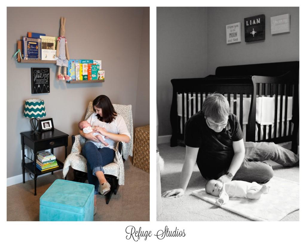 Findlay Ohio Lifestyle Newborn Photo