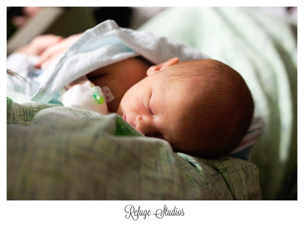 Findlay hospital Birth photography