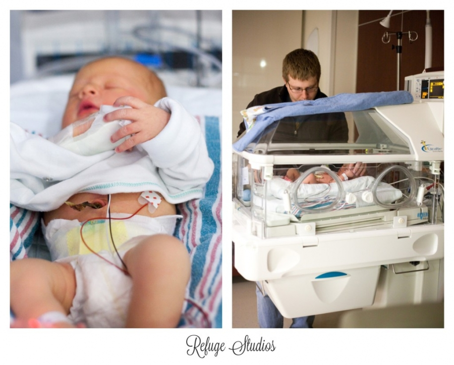 Findlay hospital birth photographer