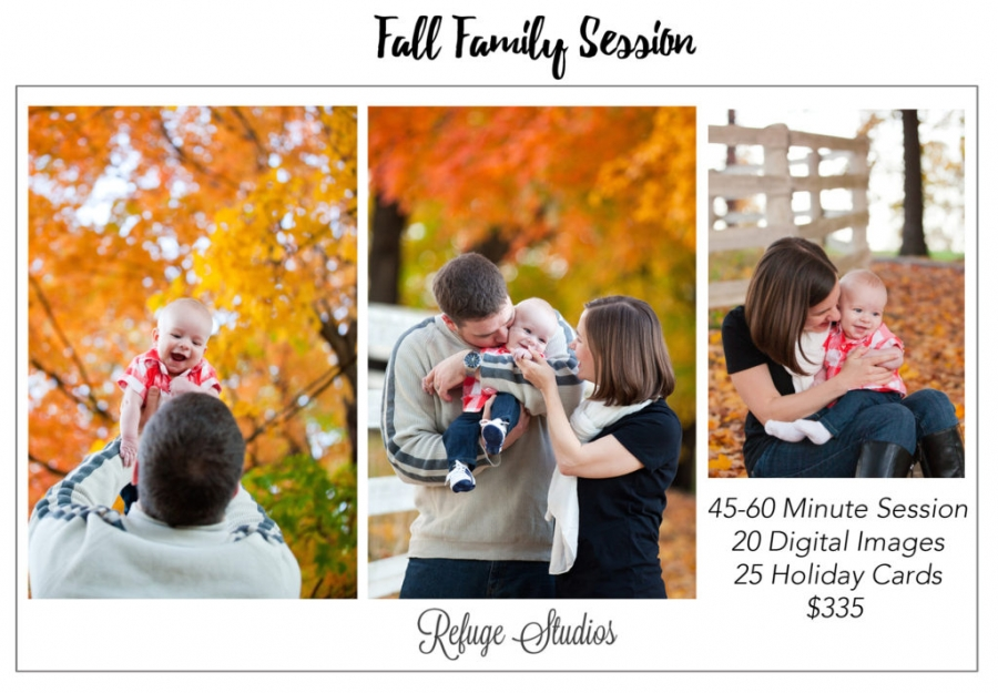 Findlay Fall Family Photos