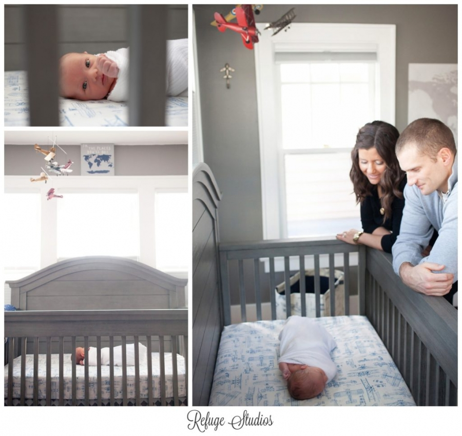 Toledo Lifestyle Newborn Photography