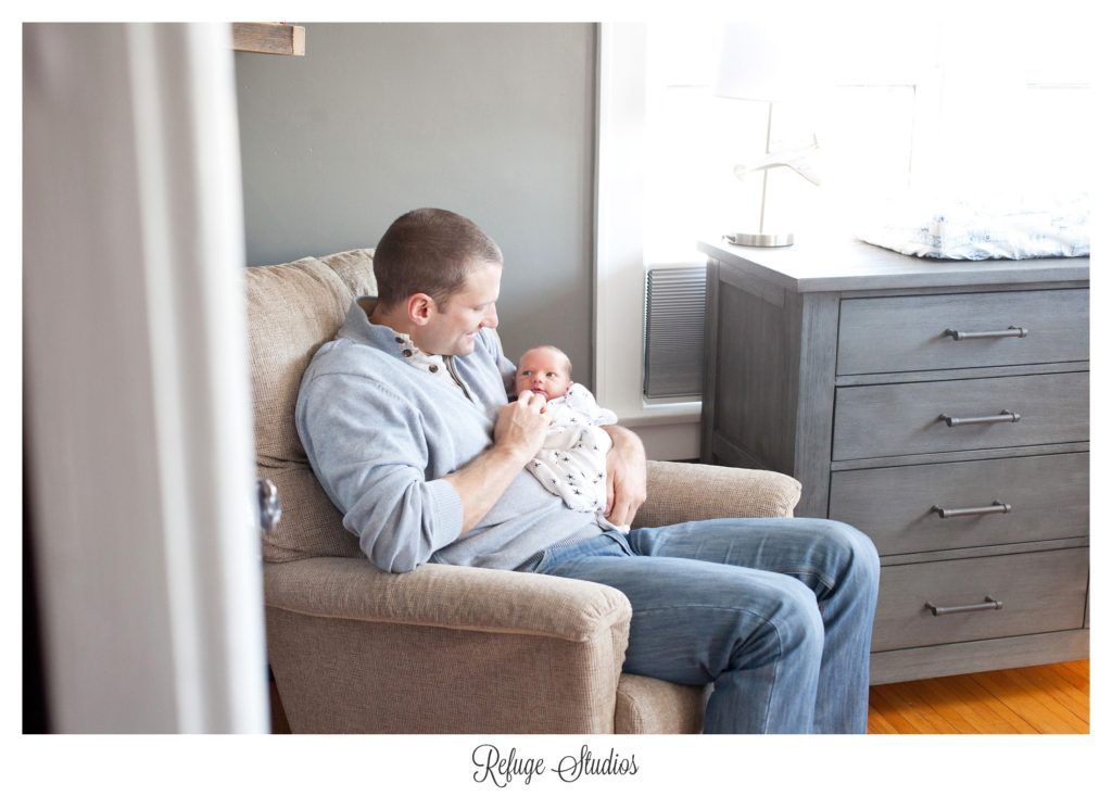 Toledo Lifestyle Newborn Photographer